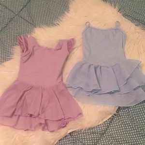 Brand New Ballet leotards bundle of two 2-4t
